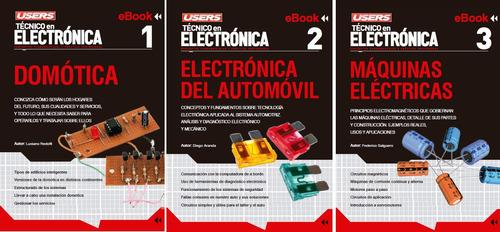 kit curs técnico electrónica. circuitos, diseño, reparación