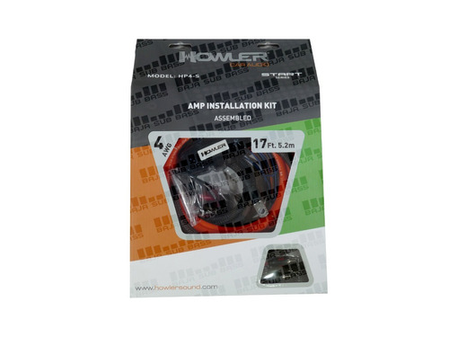 kit d instalacion amplificador howler calibre 4 auto hp4-s