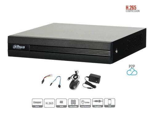 kit dahua 4 cámaras dvr 8 ch 720p disco duro 1tb todo inclui