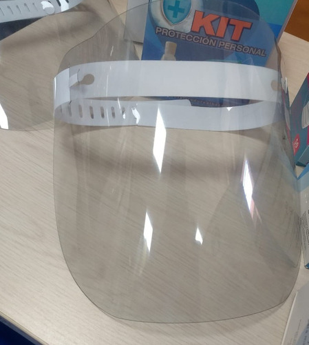 kit de 10 caretas protector facial calibre 18 ajustables