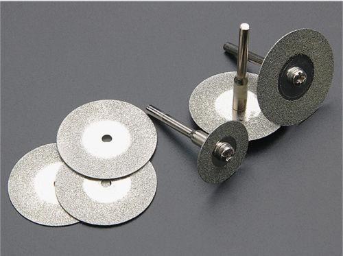 kit de 10 discos diamantados para motortool o taladro 20mm