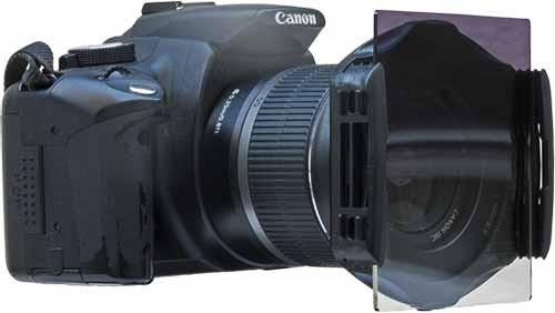 kit de 10 filtros cuadrados para fotografía con soporte 58mm