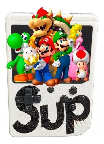 kit de 10 game box sup 400 juegos mini consola recargable