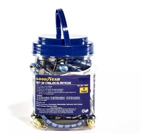 kit de 10 tensores elasticos con ganchos (no envios)