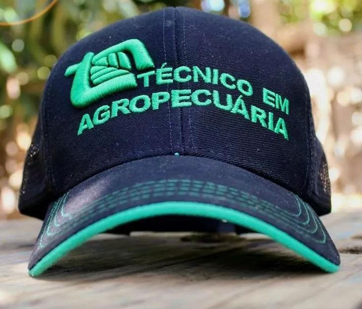 81389e5506f01 Kit De 12 Bonés Técnico Em Agropecuária Curso Agrícola - R  276