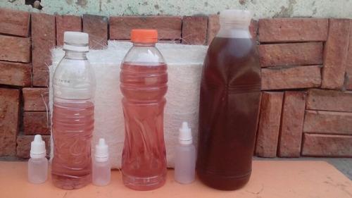 kit de 1/2 litro... de fibra de vidrio y resina de poliester