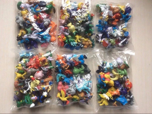 kit de 144 miniatura pokémon - pronta entrega
