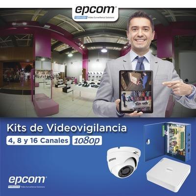 kit de 16 cámaras de vigilancia