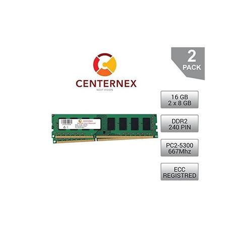 kit de 16 gb (módulos de 2x8gb) memoria ram para supermicro