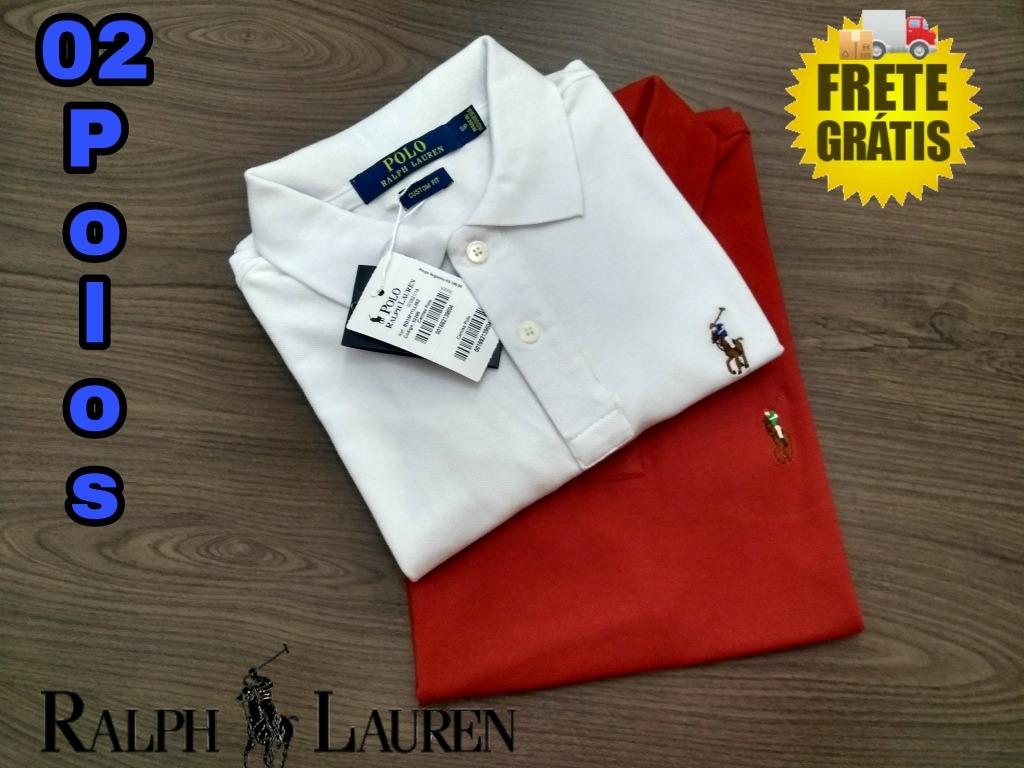 Kit De 2 Camisas Polo Ralph Lauren Importadas - R  139 53398c29ffa