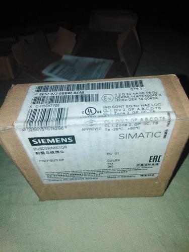 kit de 2 conectores profibus, siemens, nuevos, en sus cajas.