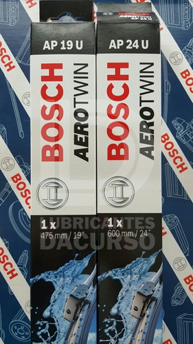 kit de 2 escobillas bosch aerotwin ford focus 2 08-12 (1726)