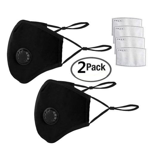 kit de 2 máscaras antipolvo y antihumo n95 & n99