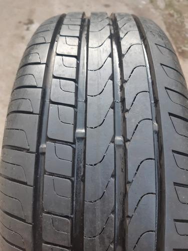 kit de 2 pneus  195/55r15  usado pirelli p7