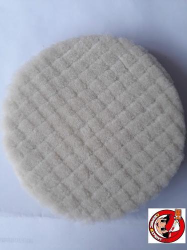 kit de 3 borlas esponjas abrillantador/medio/alto lana 5.5