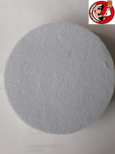 kit de 3 borlas esponjas lana medio/alto/abrillantador 6.5