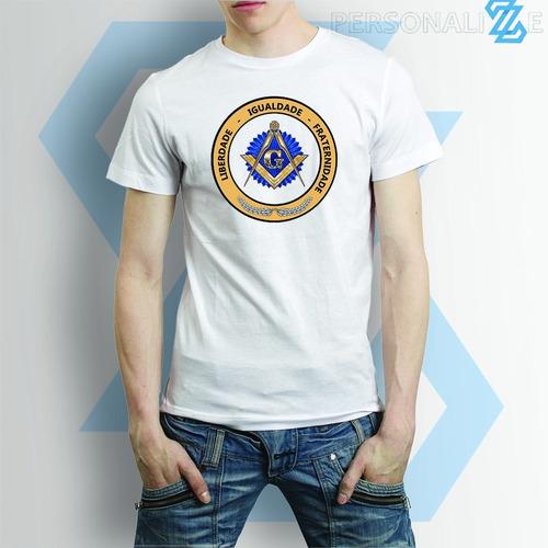 kit de 3 camisetas sobre simbolos da maçonaria