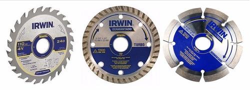 kit de 3 discos irwin com frete gratis