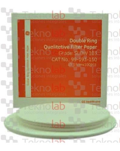 kit de 3 papel de filtro cualitativo medio rápido ref 5 ¡