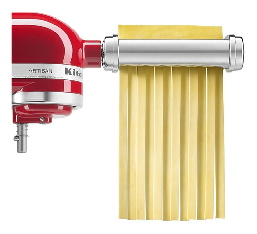 kit de 3 rodillos de pasta italiana para batidora kitchenaid