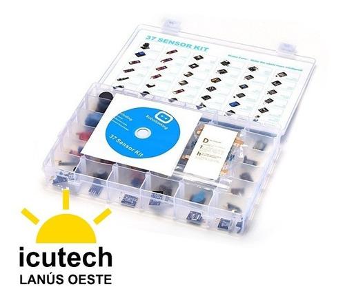 kit de 37 en 1 sensores para arduino incluye manual