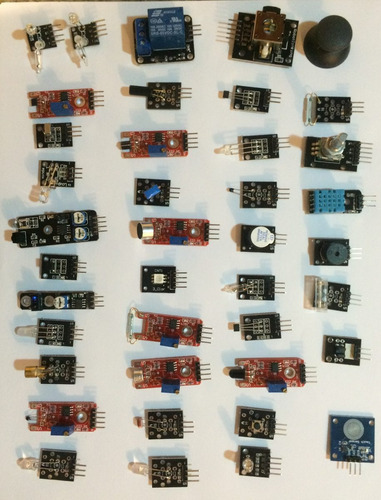 kit de 37 sensores para arduino uno r3 / mega 2560 / nano