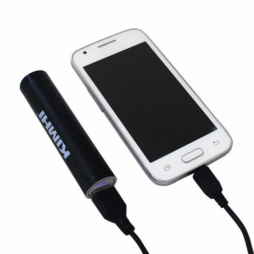 kit de 4 baterías cargador celular power bank kimhi  2200mah