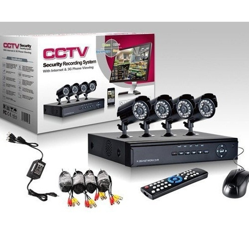 kit de 4 camaras disco duro 1 tera sistema de vigilancia