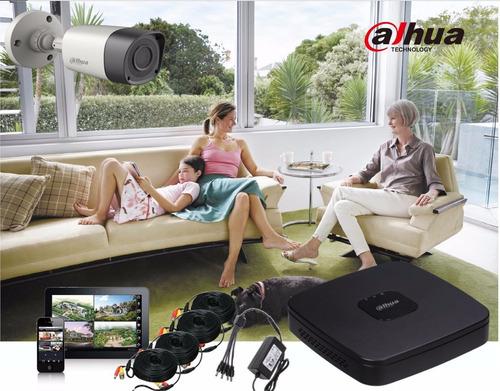 kit de 4 canales hdcvi 1080p / hdmi / 4 camaras bullet 1080p