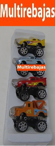 kit de 4 carros  de coleccion jeep