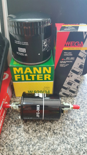 kit de 4 filtros chery tiggo 2.0 aire aceite nafta habitacul