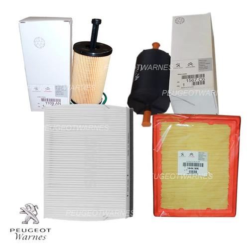 kit de 4 filtros originales citroen picasso 1.6 16v 2001-04
