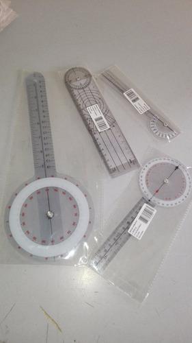 kit de 4 goniometros para rehabilitación funcional (honsun)