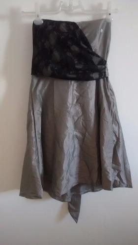 kit de 4 vestidos de festa em tafetá e cetim