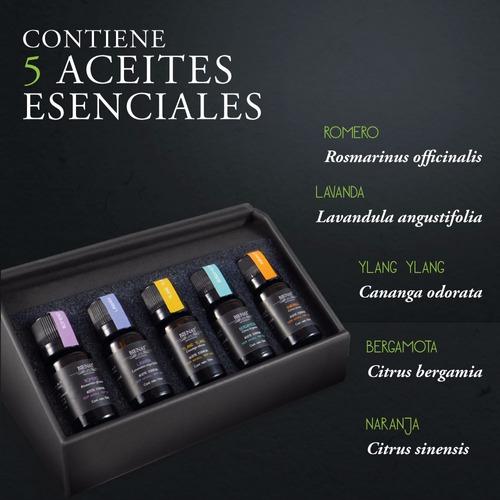 kit de 5 aceites esenciales bienat aromaterapia - mix zen