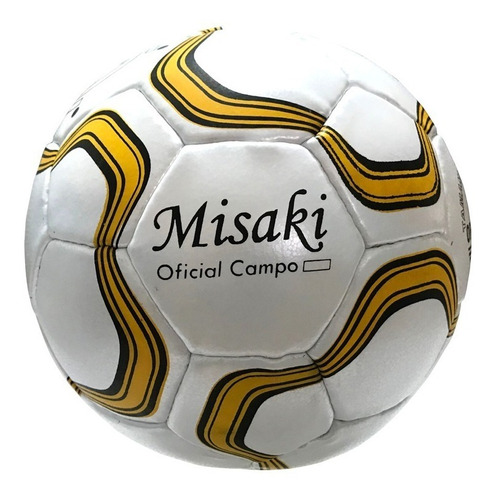 kit de 5 bolas campo oficial costurada misaki futebol