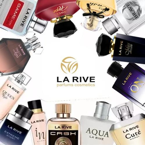 kit de 5 perfumes masc fem la rive original -a escolha