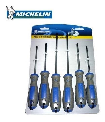 kit de 6 destornilladores  michelín