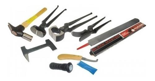 kit de 8 herramientas para herrar mustad envio gratis