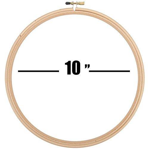 """kit de accesorios de bordado a mano: 10 """"aro de..."""