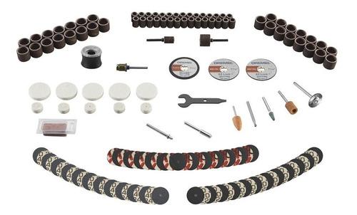 kit de accesorios dremel, 160piezas, corte, lijado