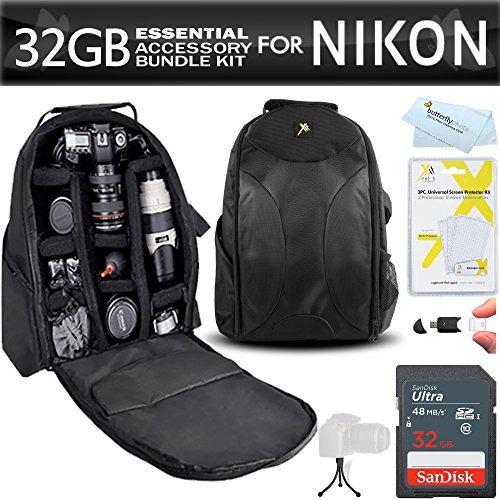kit de accesorios esenciales para nikon d7200 d7100 d7000 d5