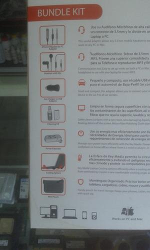 kit de accesorios key media