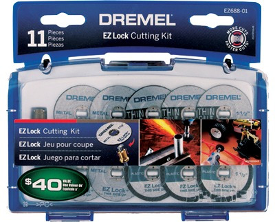 kit de accesorios minitorno dremel discos de corte ez688