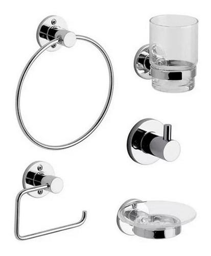 kit de accesorios para baños arizona 179.05/b1 cromo fv