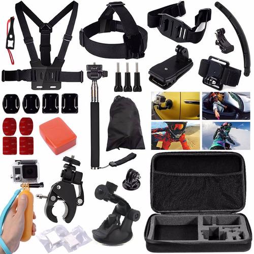 kit de accesorios para cámaras deportivas go pro hero y 4k
