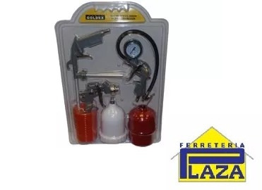 kit de accesorios para compresor goldex