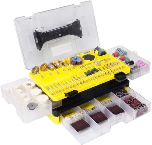kit de accesorios para dremel, 349piezas, corte, lijado