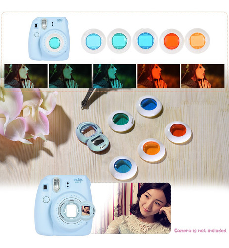 kit de acessórios 10 em 1 para fujifilm instax mini 8/8+/8s/