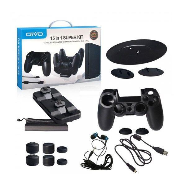 762156f97 Kit De Acessórios Esportivos Para Playstation Ps4 Slim   Pro - R  63 ...